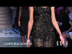 Julien Macdonald. London Fashion Week. Otoño / invierno 2015-2016