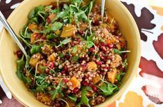 The Ultimate Fall Wheatberry Salad by Kath Younger