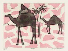 Julian Trevelyan 'Camels', 1972 © The estate of Julian Trevelyan