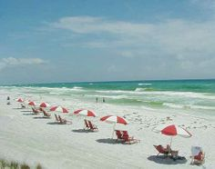 Destin, Florida - Florida panhandle - best beaches I've seen in continental U. Best Beach In Florida, Destin Beach, Florida Beaches, Destin Florida, Wonderful Places, Great Places, Places To See, Beautiful Places, Best Vacations