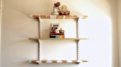 DIY / PAINTED SHELVES by Bri Emery. video by: designlovefest