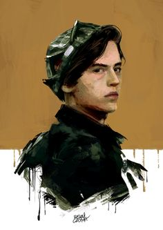 """""""It's called necrophilia, Reggie. Can you spell it?"""" jughead Jones - Illustration by Relly Coquia"""