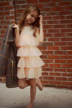 - tutu du monde dress by Gina Kim Photography Kids Party Frocks, Kids Frocks, Tween Fashion, Baby Girl Fashion, Fashion Outfits, Baby Dress, The Dress, Little Girl Dresses, Girls Dresses