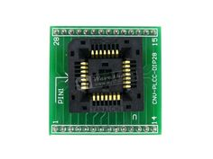 PLCC28 TO DIP28 Yamaichi IC Programming Adapter Test & Burn-in Socket for for PLCC28 Package 1.27mm Pitch