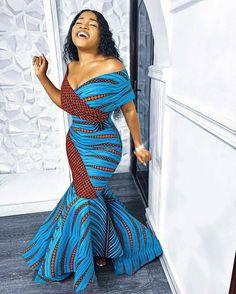 African Fashion Ankara, Latest African Fashion Dresses, African Print Fashion, Africa Fashion, Women's Fashion Dresses, African Style Clothing, Fashion Prints, Modern African Fashion, Latest Ankara Dresses