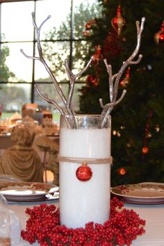 Rudolph the Red Nosed Reindeer centerpiece