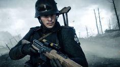Battlefield 1 Game Soldier Rifle Wallpaper