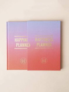 100 Day Happiness Planner Lavender & Coral