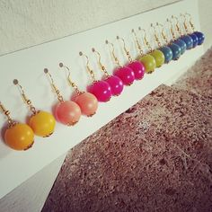 Polymer Clay Earrings made in France
