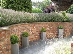 Brilliant Brick Wall Garden 17 Best Ideas About Brick Wall Gardens On Pinterest Garden Wall