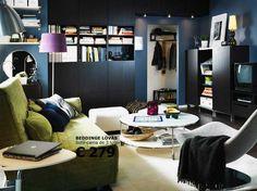 Salas Ikea - http://www.dicasdecoracao.com/salas-ikea/