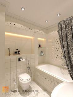 Фото интерьер ванной комнаты из проекта «Дизайн трехкомнатной квартиры 100 кв.м. в стиле неоклассики, ЖК «Смольный парк»»