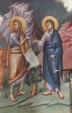 Byzantine Icons, Orthodox Icons, Ikon, Vignettes, Jesus Christ, Christianity, Images, Scene, Mosaics