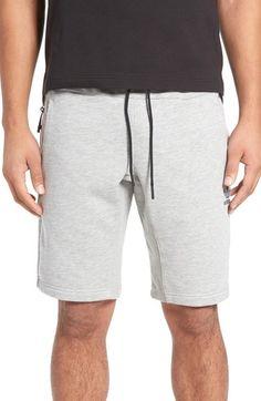 1d61e1cae703  Sport Luxe  Fleece Shorts In Grey
