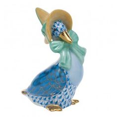 Herend Mother Goose - Blue  $310