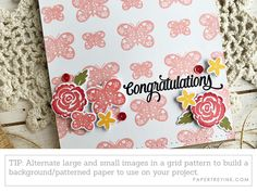 Quick & Easy Card Making + The New Gray Color Name Announcement! Grey Color Names, Gray Color, How To Introduce Yourself, How To Make, Diy On A Budget, Love Is All, Background Patterns, Announcement, Cardmaking