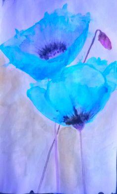 aquarel met filter over foto.