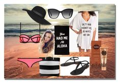 """""""Beach"""" by aurorahart on Polyvore featuring Cocobelle, Milly, Topshop, Dolce&Gabbana, Fake Bake, women's clothing, women, female, woman and misses"""