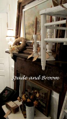 1000 images about spade and broom on pinterest display antiques and shabby - Muur hutch ...