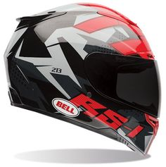 Bell RS-1 Topo Snow Camo Street Ridin Motorcycle Helmet