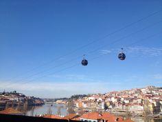 Teleférico de Gaia Rio Douro Porto