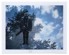 fp-100c fujifilm polaroid instax instant film double exposure. pines, beauty, blue sky, music. good. Bright Star || A New Worship Project From Aaron Strumpel by Aaron Strumpel — Kickstarter