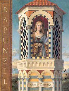 I love the sun-drenched illustrations of this Italian Renaissance-set Rapunzel retelling