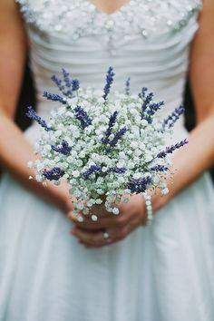 Wedding Gypsophila Lavender Bouquet http://www.benjaminstuart.co.uk/