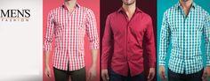 #Camisas para #Hombres casuales y de vestir. Elige la que quieras