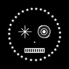 Apollo in the sky with stars