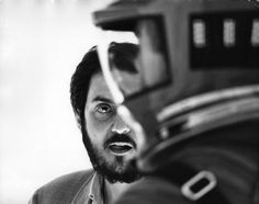 Stanley Kubrick on the set of 2001: A Space Odyssey (1965-68), directed by Stanley Kubrick