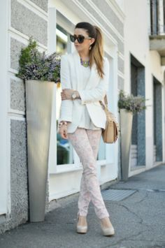 FLORAL PRINT - Fashion blogger outfit