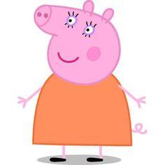 Peppa Pig, cartone animato, famiglia di Peppa Pig, mamma Pig