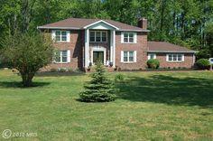 Brick Colonial in Owings, #Maryland