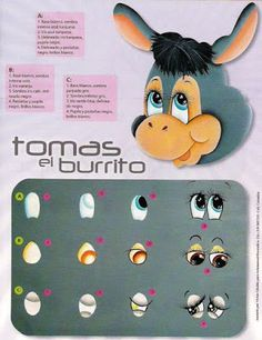 Crafts Magazines Free: Learn to paint eyes crafts One Stroke Painting, Painting Tips, Fabric Painting, Painting & Drawing, Doll Eyes, Doll Face, Poney Crochet, Craft Eyes, Flower Pot Crafts