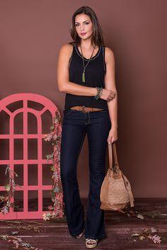 #debrummodas #coleção #calça #flare #regata #modafeminina #moda #fashion #style #estilo