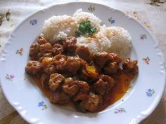 SÓJOVÉ KOSTKY V TROUBĚ-VELICE CHUTNÉ Tempeh, Tofu, Rice, Beef, Vegan, Chicken, Ethnic Recipes, Meat, Vegans