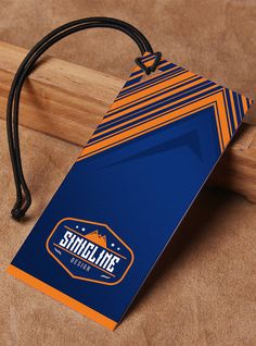 Sinicline hang tag design, custom-made hang tag.   View more at http://www.sinicline.net/hang_tags/.   #hangtag #branding