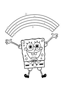 Spongebob Coloring Pages Printable . 24 Spongebob Coloring Pages Printable . Coloring Pages Spongebob and Patrick Coloring Home Cartoon Coloring Pages, Coloring Book Pages, Coloring Sheets For Kids, Adult Coloring, Pintar Disney, Spongebob Coloring, Spongebob Drawings, Simpsons, Favorite Cartoon Character