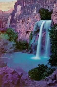 #Waterfalls of Havasupai ~  Pinned from PinTo for iPad 