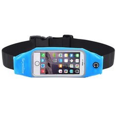 Se7enline Running Belt Waist Pack Sweatproof Reflective Runners Belts Fitness Belts Hydration Belts for Cell Phones, Keys & Cards for 5.5 inch iPhone 6S/6 PLUS Transparent Touch Screen Window, Blue. Dual Pocket & Headphone Access Point: Separate pocket to slide your phone in one side and be safe from scratches and thread your headphones through neatly. The other side fits all your valuables comfortably and safely. Touch Screen Compatible: While you are doing exercise, you can see your...