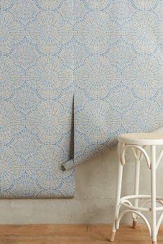 Lace Web Wallpaper - anthropologie.com