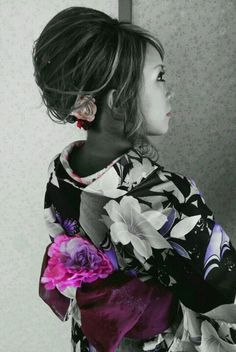 yukata hair set  kimono  up suji  浴衣 ヘアセット アップ 着付け hitomi.y