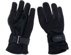 MFH Fingerhandschuhe, Mesh, Neopren, schwarz / mehr Infos auf: www.Guntia-Militaria-Shop.de