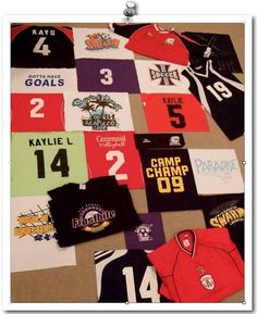 T-Shirt Memory Quilt Project