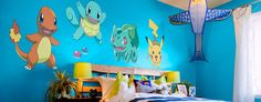 Pokémon wall decals are the gift that creates ear-to-ear smiles. Pokémon stickers have evolved into something better at Fathead.