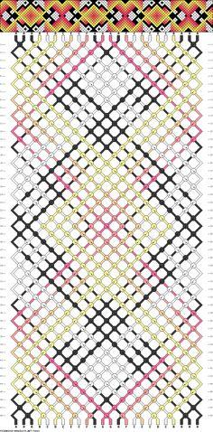 Muster # 74643, Streicher: 24 Zeilen: 48 Farben: 7