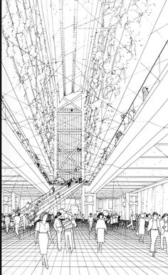 BLACK & WHITE SKETCHES | 948 | Norman Foster |source