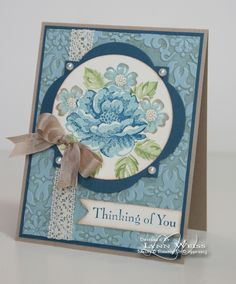 I love the Stippled Blossoms stamp set and can't wait to create more cards like this with it!