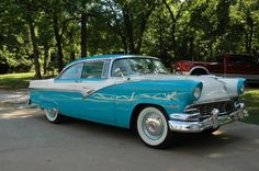 1956 Ford Fairlane  Maintenance/restoration of old/vintage vehicles: the material for new cogs/casters/gears/pads could be cast polyamide which I (Cast polyamide) can produce. My contact: tatjana.alic@windowslive.com